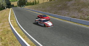 It was a race-long duel between Fabron and Setou, one which ended in a last lap pass