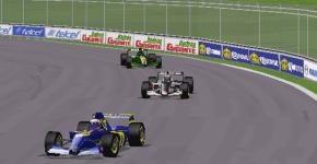 Despite struggling with traffic, Sebastian Vettel managed to finish second.