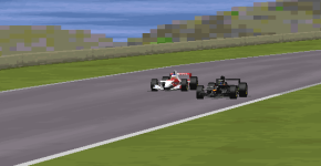 Jules Bianchi was not able to stop his Icelandic opponent  from taking the lead.