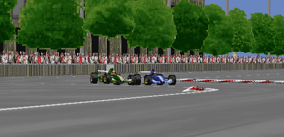 Dean Stoneman and Lewis Hamilton risked everything for a chance to win this street race.