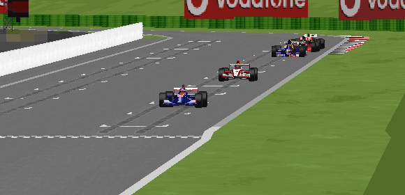 Artem Markelov's masterful defensive driving earned him a championship point.