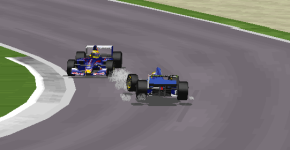 Pastor Maldonado throws away a chance to extend his championship lead at Donington.